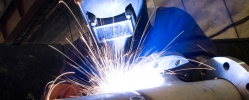 coded welding